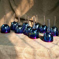 12pcs crystal handle singing bowls set 5th octave C C# D D# E F F# G G# A A# B