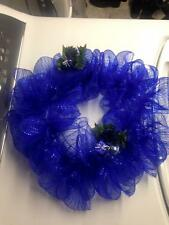 Homemade Deco Mesh Wreaths for any occassion
