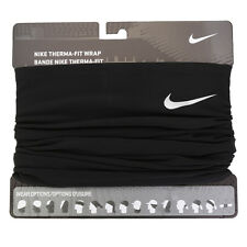 Nike 2016 Therma-Fit Running Wrap Neck Warmer Beanie OSFM Black AC3989-011