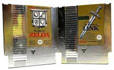 The Legend of Zelda & Zelda II for Nintendo Entertainment System NES