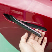 New Door Handle Stickers For Tesla Model 3/Y Carbon Fiber Scratch-Resistant