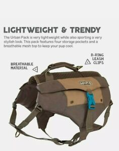 URBAN OUTDOOR DOG HIKING BACKPACK DAY PACK by OUTWARD HOUND SM/MD EUC no wear