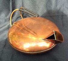 Antique Unusual / Unique Vintage Electric Copper Kettle - Art deco