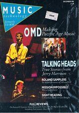 1986 TALKING HEADS Jerry Harrison, Kawai K3, Alesis Microverb, Akai MX73 Review