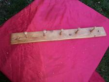 Rigenerate Shaker Peg Cappotto / RK / 100 Anno vecchio pino -- dimensioni per adattarsi porta interna