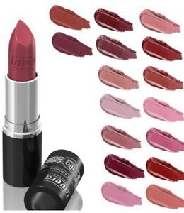 Lavera Lipstick Colour Intense Organic Natural Blossom Rose Lime All Shades