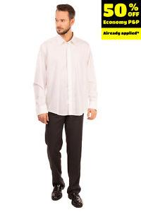 RRP €190 PAL ZILERI CERIMONIA Shirt Size 45 / 17 3/4 / XL Pinstripe French Cuffs