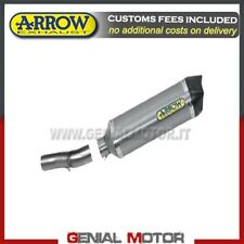 Exhaust + Link Pipe Arrow R. Tech AK Alu Honda Cbf 1000 St 2013 13