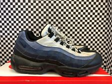 Used Men's Nike Air Max 95 749766-028 Size 10.5 White/Navy/Blue Cowboys