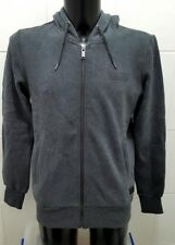 NEW Firetrap Brunel Full Zip Hoodie, Charcoal - M
