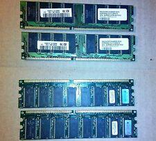 MEMORIA RAM PC DESKTOP VDATA DDR400 2.5 X 512MX16 S/N 440 (2X512MB+2X256 )
