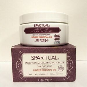 Sparitual Instinctual Organic Bath Salts 7.7 oz