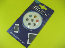 MI BUTTON HOME BUTTON STICKER ALL IPHONE, IPADS & TOUCH DOTS DESIGN