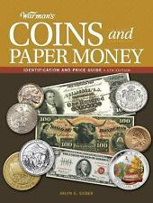 Warman's Coins and Paper Money Book~Prices~Various World Coins~Color Photos~NEW