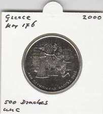 Greece 500 Drachmes 2000 UNC - KM176 / Olympics Receiving Tourch (mf112)