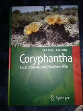 Coryphantha: Cacti of Mexico and Southern USA Cactaceae Cactus Succulents Botany