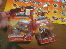 Skylanders SuperChargers LOT PACKS BURN CYCLE & LAVA LANCE ERUPTOR SET COMPLETE