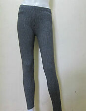 """25""""-31"""" STRIPES BLACK Plain Work-out Leggings Active, Casual Wear Free Size v6"""