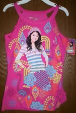 WIZARDS of Waverly Place Shirt Girl's 14/16 NeW Glittery Pink Selena Gomez NWT