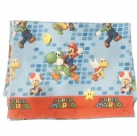 Super Mario Bros Twin Flat Sheet The Race Is On Single EUC
