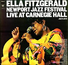 ELLA FITZGERALD - Live At Carnegie Hall 1973 (Vinile e Cover=M) 2 LP GATEFOLD