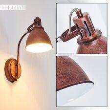 Applique murale Retro Lampe de couloir Rouille Spot Lampe murale Luminaire Métal