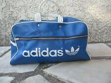 Sac ADIDAS vintage 80'S sport bag oldschool collection bleu 48 x 22 x 18 cm