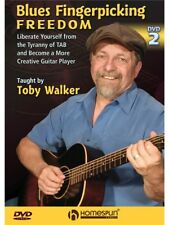 Blues Fingerpicking Freedom Learn to Play Lesson Instructional GUITAR MUSIC DVD