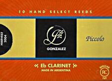 Gonzalez #2.25  Eb Clarinet Reeds (Box of 10 Reeds) BRAND NEW