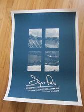 SIGUR ROS Los Angeles concert poster 18x24