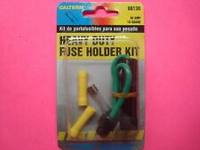 FUSE HOLDER EXTRA HEAVY DUTY COMPLETE KIT 30 AMP/10 G FUSE BUTT SPLICE CONNECTOR