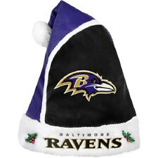 Baltimore Ravens Santa Hat Forever Collectibles NFL 2015