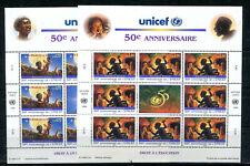 UNO Genf 301/02 postfrischer Kleinbogen / UNICEF .........................2/3826