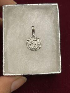 ATOCHA Silver Coin Pendant - Treasure Shipwreck Coin Jewelry