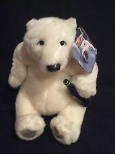 """Coca Cola """"The Bear Everyone Is Thirsting After"""" White Polar W/Bottle Plush"""