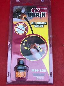 DORMAN 092-007 AUTOGRADE EZ DRAIN SOLUTION OIL PAN DRAIN PLUG M14-1.50 THREAD