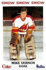 1984-85 Moncton Golden Flames #20 Mike Vernon
