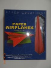 PAPER CREATIONS; PAPER AIRPLANES BOOK AND GIFT SET BY NORMAN SCHMIDT
