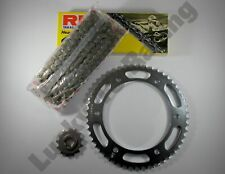 RK Chain and sprocket kit for Hyosung GT 125 Naked 03-15 choose your own