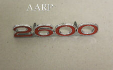 HOLDEN 2600 FRONT GUARD BADGE PART# 2811117 FOR TORANA LC MAY SUIT LJ ALSO