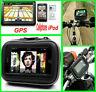 Wasserdicht Motorrad Fahrrad Halterung Halter Tasche Für Navi Navigation GPS