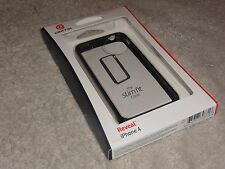 NEW GRIFFIN REVEAL SLIM FIT CLEAR BACKED BUMPER CASE FOR iPHONE 4/4s