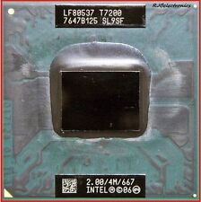 INTEL CORE 2 DUO 2.00GHz  4M 667MHz T7200 SL9SF  U.S.A. SELLER with Clam shell.