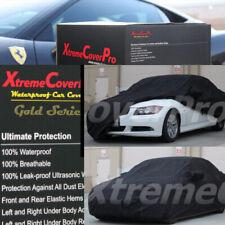 2001 2002 2003 2004 2005 2006 BMW 325i 330i Waterproof Car Cover BLACK W/MIRRORP