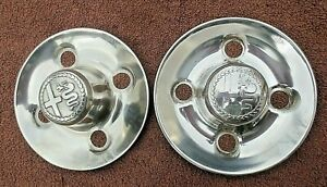 WHEEL CENTER CAP, ALFA ROMEO 2000  BERLINA, GTV, SPIDER.  used QTY. 2
