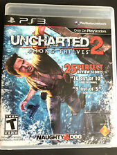 PS3 Uncharted 2 Among Thieves Playstation Game