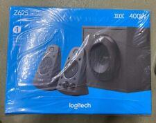 Logitech Z625 THX Certified 3-Piece 2.1 Channel Multimedia Speaker System Black