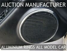 For Toyota Celica Mk6 T200 94-99 Chrome Car Door Speaker Audio Ring Cover Trim