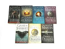Game of Thrones Seasons 1-2, 7 Books Song of Ice and Fire A Clash of Kings Etc