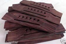 Guitar 6 String Rose wood Guitar Bridge For Acoustic Guitar   2 pcs